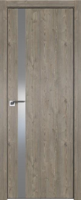 Фото -   Межкомнатная дверь 6ZN, Каштан темный, матовая с 4-х сторон   | фото в интерьере