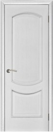"Межкомнатная дверь ""Лира"", пг, серебряная патина"