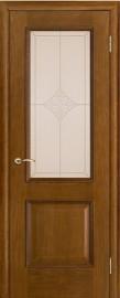 """Межкомнатная дверь """"Шервуд"""", стекло """"Ромб"""", античный дуб"""