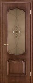 "Межкомнатная дверь ""Премьера"", по, патина голд"