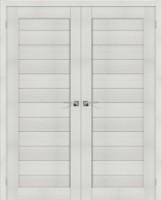 Фото -   Двойная распашная дверь Порта-21 Bianco Veralinga     фото в интерьере