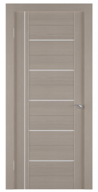 Фото -   Межкомнатная дверь Zadoor ПО ECO 8 Беленый Дуб   | фото в интерьере