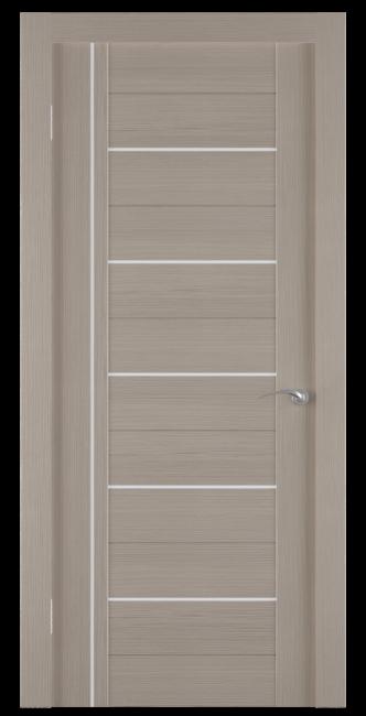 Фото -   Межкомнатная дверь Zadoor ПО ECO 8 Беленый Дуб     фото в интерьере