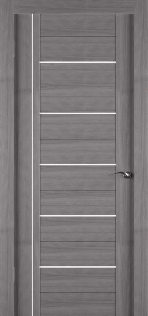 Фото -   Межкомнатная дверь Zadoor ПО ECO 8 Грей   | фото в интерьере