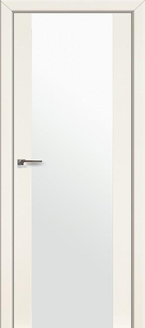 Фото -   Межкомнатная дверь 8L, магнолия люкс   | фото в интерьере