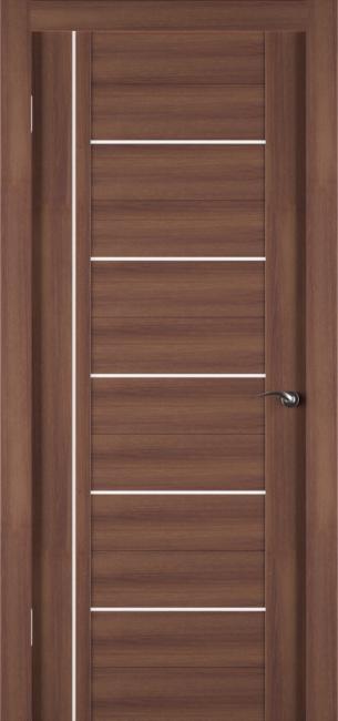 Фото -   Межкомнатная дверь Zadoor ПО ECO 8 Орех     фото в интерьере