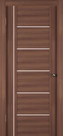 Фото -   Межкомнатная дверь Zadoor ПО ECO 8 Орех   | фото в интерьере