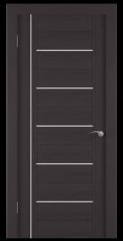 Фото -   Межкомнатная дверь Zadoor ПО ECO 8 Венге   | фото в интерьере