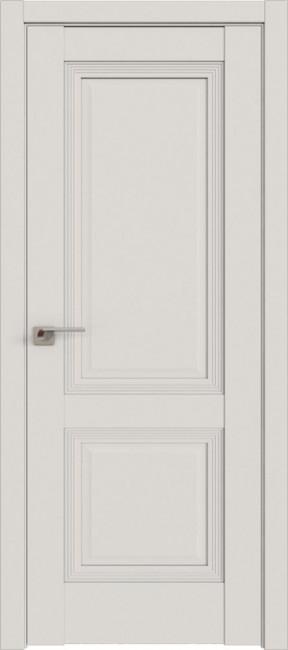 Фото -   Межкомнатная дверь 80U, ДаркВайт   | фото в интерьере