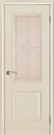 """Межкомнатная дверь """"Версаль"""", стекло """"Ромб"""", ваниль патина"""