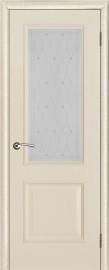 """Межкомнатная дверь """"Версаль"""", стекло """"Роса"""", ваниль патина"""