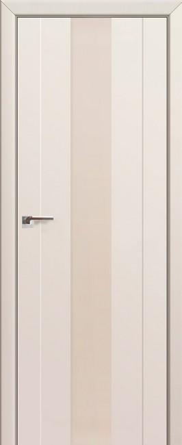 Фото -   Межкомнатная дверь 89U, магнолия сатинат   | фото в интерьере