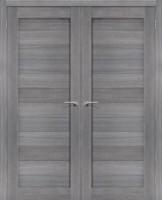 Фото -   Двойная распашная дверь Порта-21 Grey Veralinga     фото в интерьере