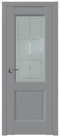Межкомнатная дверь 90U, манхэттен