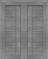 Фото -   Двойная распашная дверь Порта-26 Grey Veralinga     фото в интерьере