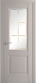 "Межкомнатная дверь ""90XN"", по, пекан белый"