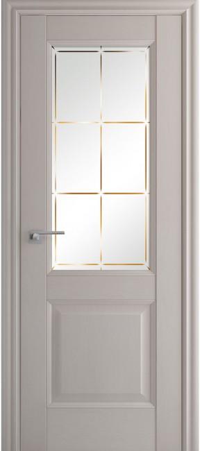 Фото -   Межкомнатная дверь 90X, по, Пекан белый гравировка 1   | фото в интерьере
