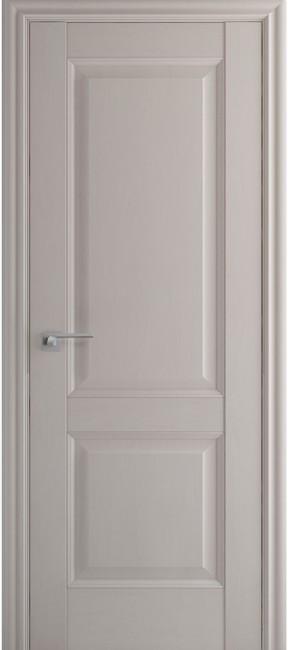 Фото -   Межкомнатная дверь 91X, пг, Пекан белый   | фото в интерьере