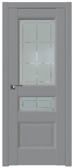Фото -   Межкомнатная дверь 94U, манхэттен,гравировка   | фото в интерьере