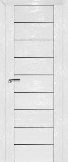Фото -   Межкомнатная дверь 98STP, Pine White glossy   | фото в интерьере
