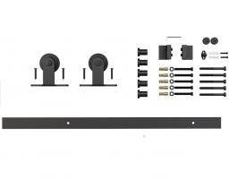 Фото -   Комплект для раздвижной двери амбарного типа Лофт А-4   | фото в интерьере