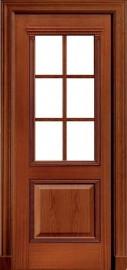 """Межкомнатная дверь """"Master Century"""", по, красное дерево"""