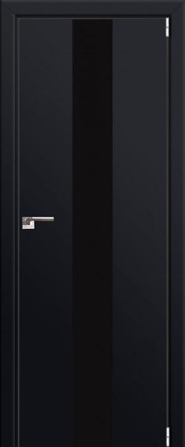 """Межкомнатная дверь """"25 Е"""", черный матовый"""