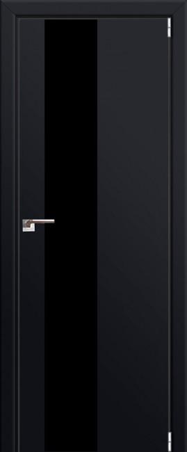 """Межкомнатная дверь """"5 Е"""", черный матовый"""