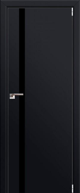 """Межкомнатная дверь """"6 Е"""", черный матовый"""