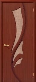 """Межкомнатная дверь """"Эксклюзив"""", по, макоре"""