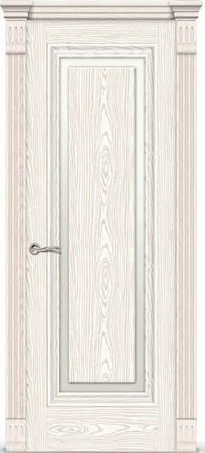 """Фото -   Межкомнатная дверь """"Элеганс-5"""", по, ясень белый     фото в интерьере"""