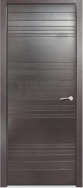 Фото -   Межкомнатная дверь Мильяна ID E, пг, гриджио   | фото в интерьере