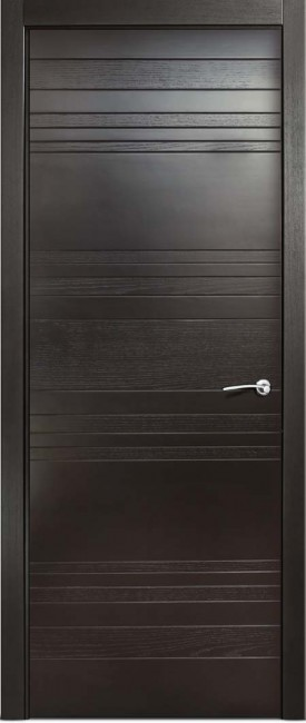 Фото -   Межкомнатная дверь Мильяна ID E, пг, неро     фото в интерьере