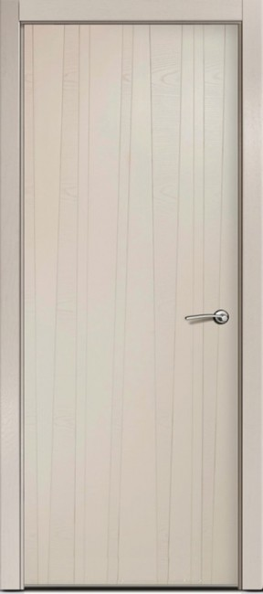Фото -   Межкомнатная дверь Мильяна ID V, пг, капучино   | фото в интерьере