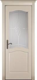"""Межкомнатная дверь """"Лео"""" (CAMPANIA), по, эмаль крем"""