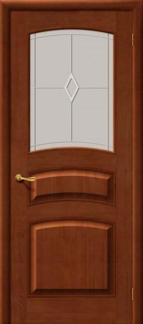 Межкомнатная дверь М 16, по, светлый лак