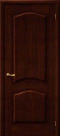 Межкомнатная дверь М 7, пг, темный лак