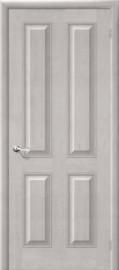 Фото -   Межкомнатная дверь М 15, пг, белый воск   | фото в интерьере