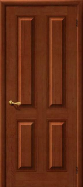 Фото -   Межкомнатная дверь М 15, пг, светлый лак   | фото в интерьере