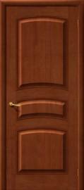 Фото -   Межкомнатная дверь М 16, пг, светлый лак   | фото в интерьере
