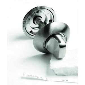 Фото -   Фиксатор сантехнический Archie OL H, белый никель     фото в интерьере