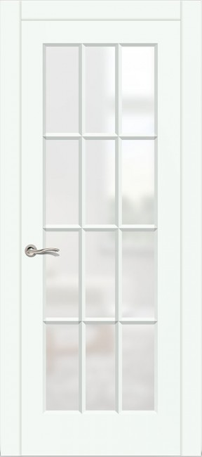"""Межкомнатная дверь """"Олимп-2"""", по, белая эмаль"""