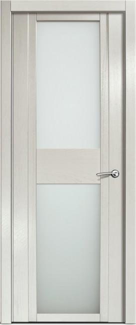 Фото -   Межкомнатная дверь Мильяна Qdo D, по, ясень жемчуг   | фото в интерьере