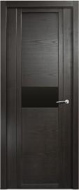 Межкомнатная дверь Мильяна Qdo H, по, ясень винтаж