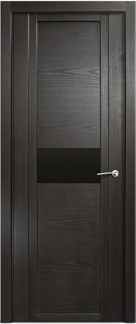 Фото -   Межкомнатная дверь Мильяна Qdo H, по, ясень винтаж     фото в интерьере