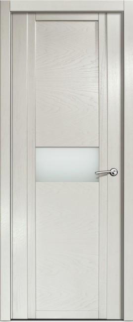 Фото -   Межкомнатная дверь Мильяна Qdo H, по, ясень жемчуг     фото в интерьере