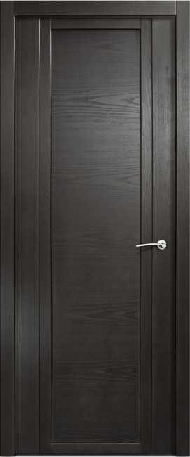 Фото -   Межкомнатная дверь Мильяна Qdo, пг, ясень винтаж     фото в интерьере