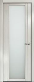 Межкомнатная дверь Мильяна Qdo X, по, ясень жемчуг
