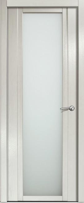 Фото -   Межкомнатная дверь Мильяна Qdo X, по, ясень жемчуг     фото в интерьере