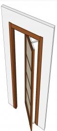 Фото -   РОТО механизм для межкомнатной двери   | фото в интерьере